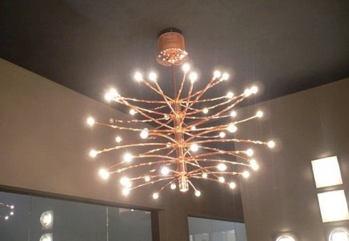لوستر مدرن LED
